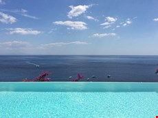Photo of Positano villa with pool and views near famous venues, restaurants, fashion boutiques.